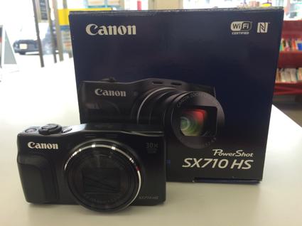 CanonのPower Shot SX710 HS