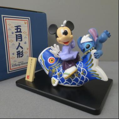 ★希少!ディズニーランド限定ミッキー五月人形 美品★