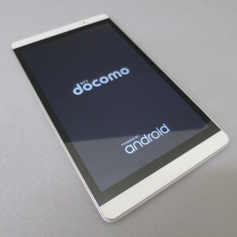 ★docomo d tab d-02H シルバー タブレット ネットワーク利用制限判定○★