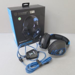 ★SADES Spellond Pro/SA-910Pro/LZ USB接続 ヘッドセット 美品★