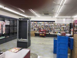 ブックオフ大阪熊取店 リニューアル風景
