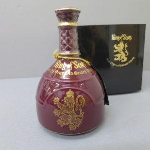 キングオブスコッツ 25年 陶器ボトル アイスペール付 をお売りいただきました