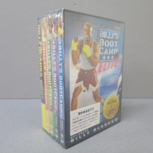 ★ビリーズブートキャンプ DVD 全4巻 日本語字幕 + 脂肪燃焼ライブ★