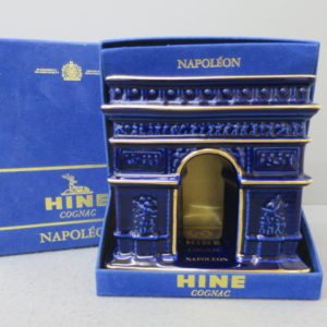 ハイン ナポレオン 凱旋門 青陶器ボトル をお売りいただきました