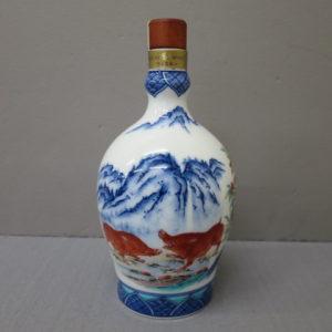 サントリーボトルコレクション特製ウイスキー有田焼〈染錦南天亥絵〉 をお売りいただきました