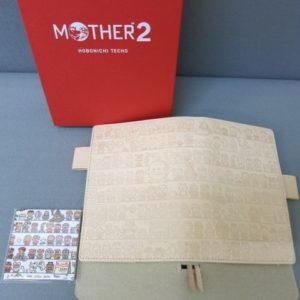 ★MOTHER2 ほぼ日手帳 カバー CAST Leather ver. オリジナルサイズ A6 未使用★