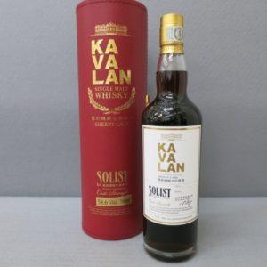★KAVALAN/カバラン SOLIST シェリーカスク 700ml 58.6% 台湾 10/22★