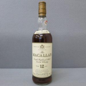 ザ・マッカラン 12年 オールドボトル をお売りいただきました