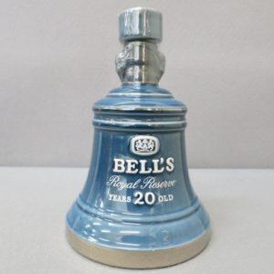 ★BELL'S ロイヤルリザーブ 20年 陶器ボトル 青 750ml 43% 1/8★